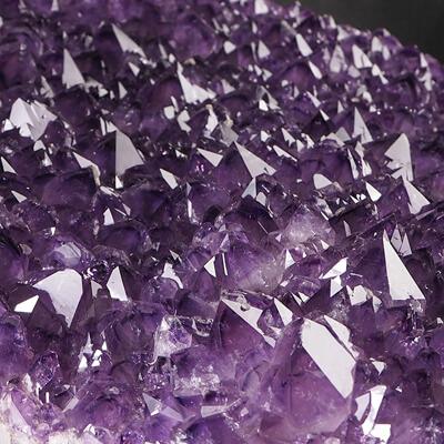 Ametyst - szczotka krystaliczna